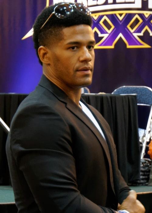 Darren Young at WWE's WrestleMania XXX Axxess on April 4, 2014