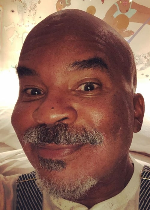 David Alan Grier as seen in a selfie taken in October 2019