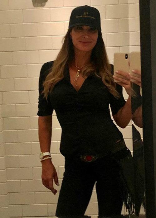 Debbe Dunning in a selfie as seen in September 2019