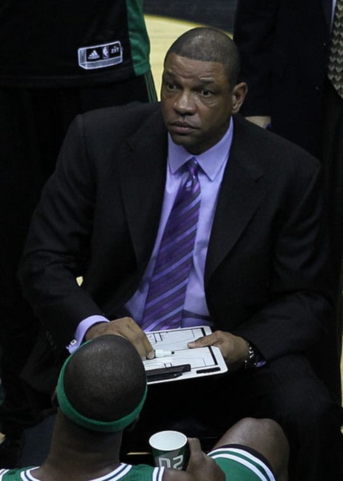 Doc Rivers as seen in April 2011