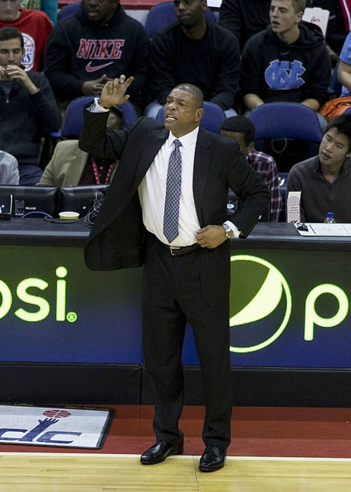 Doc Rivers as seen in December 2013