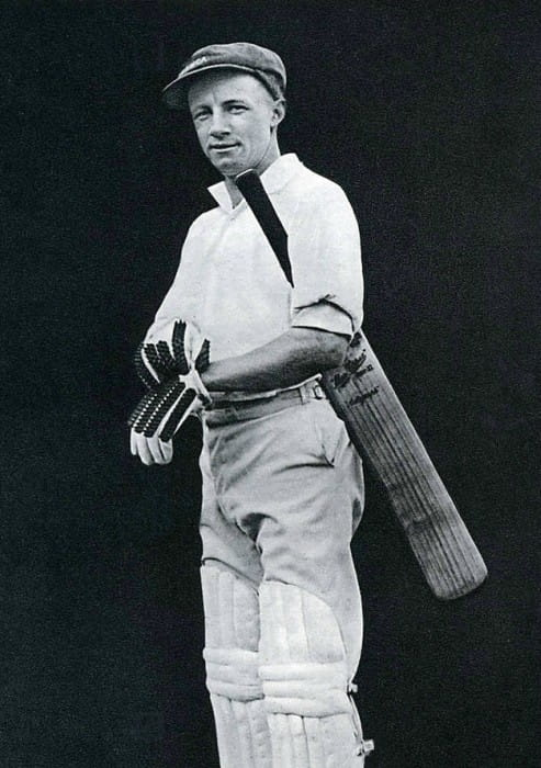 Don Bradman as seen in 1928