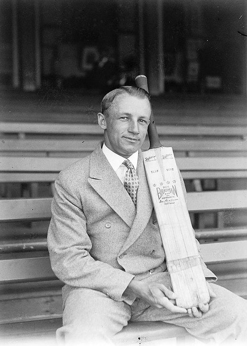 Don Bradman as seen in 1932