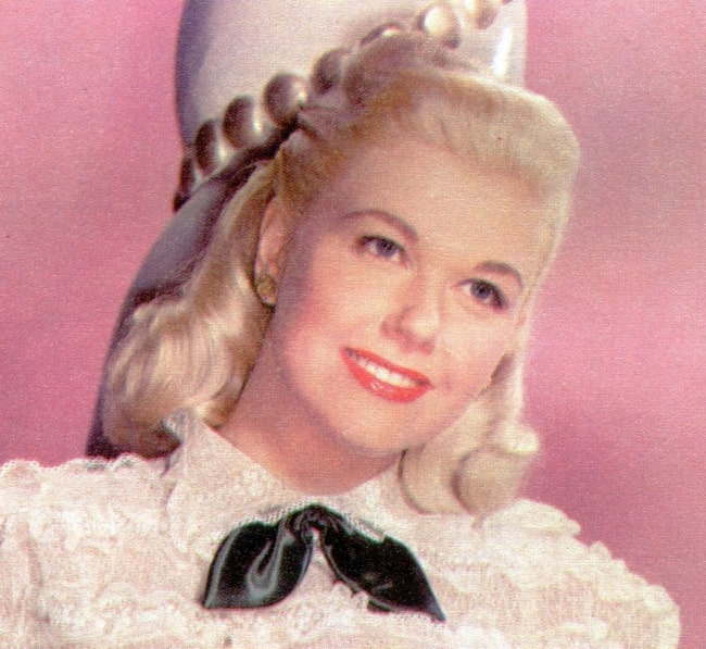 Doris Day as seen during her younger days