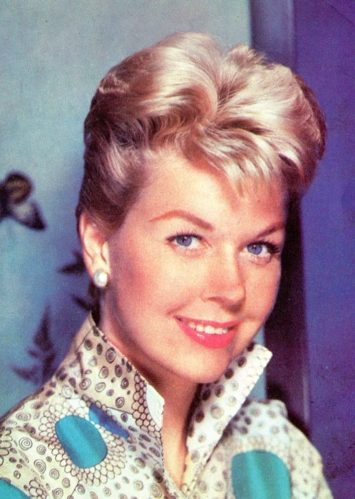 Doris Day as seen while smiling in a picture