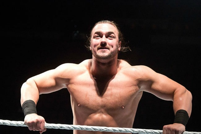 Drew McIntyre as seen in January 2012