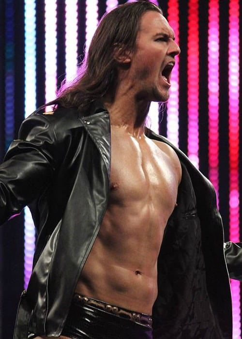 Drew McIntyre at the post-WrestleMania SmackDown tapings in April 2014