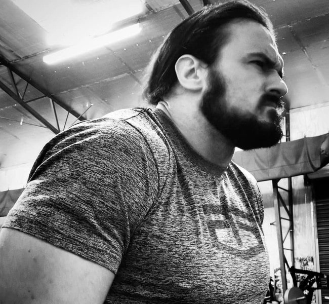 Drew McIntyre in an Instagram post as seen in March 2018