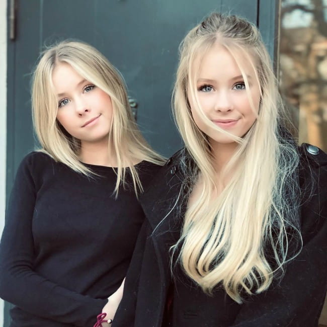 Elle Cryssanthander with her sister Iza Cryssanthander as seen in February 2020