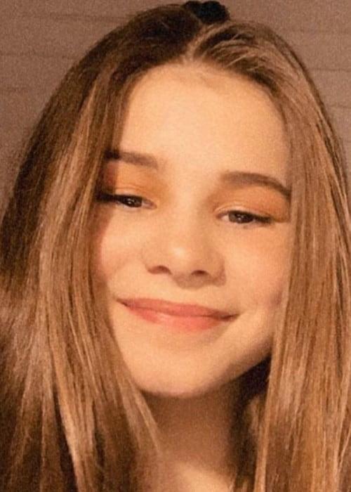 Emma Gunnarsen in an Instagram selfie as seen in December 2019