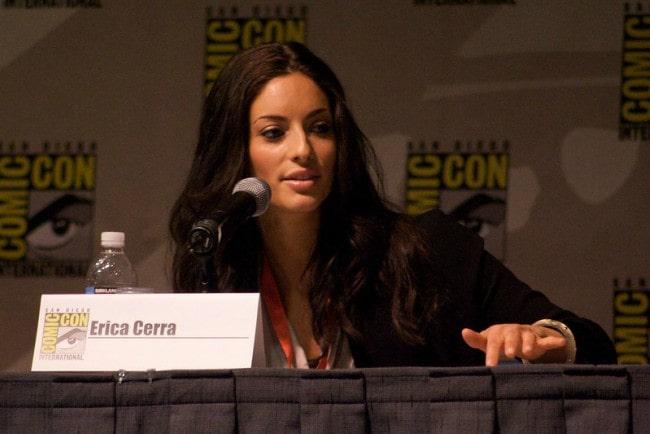 Erica Cerra as seen in July 2009