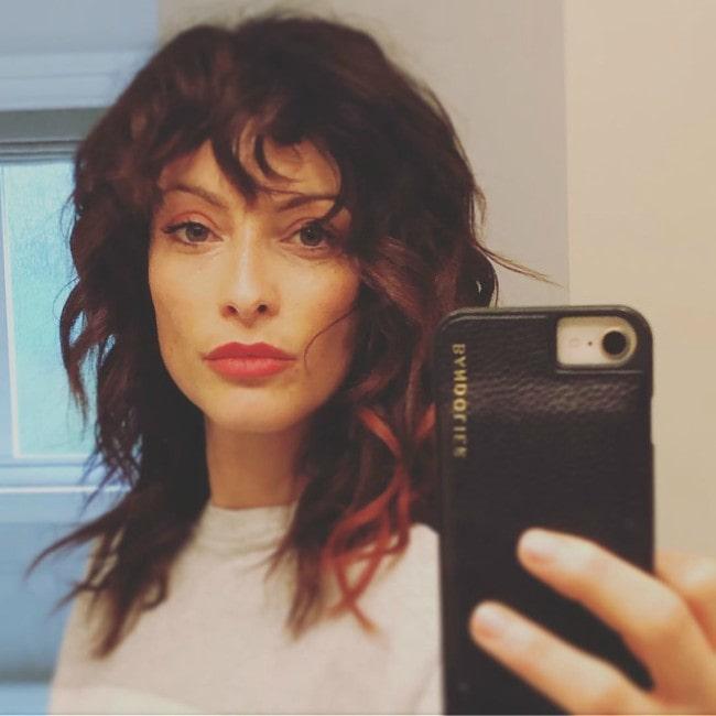 Erica Cerra in a selfie in October 2019