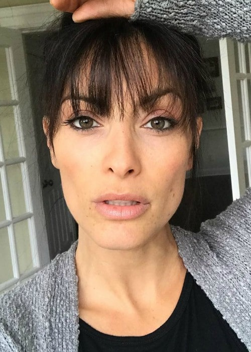 Erica Cerra in an Instagram selfie as seen in September 2019