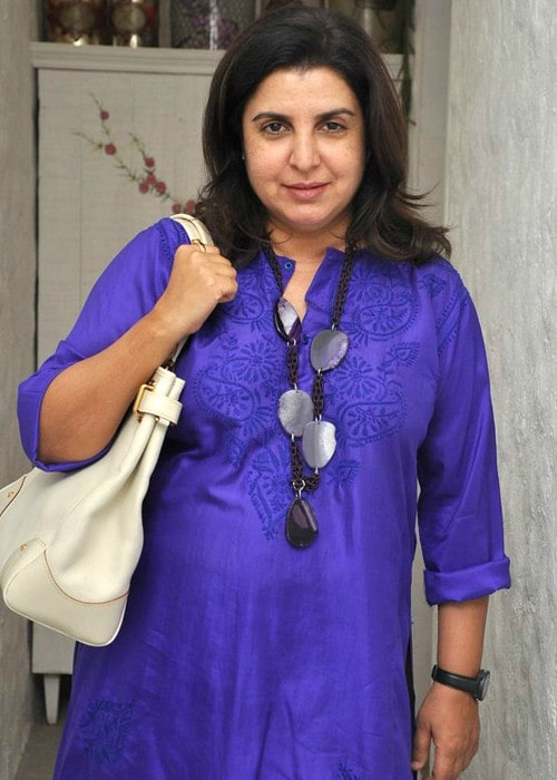 Farah Khan as seen in June 2012