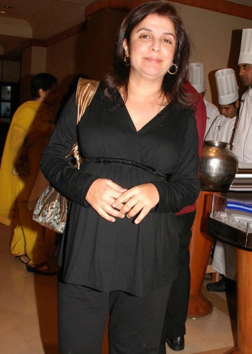 Farah Khan during an event