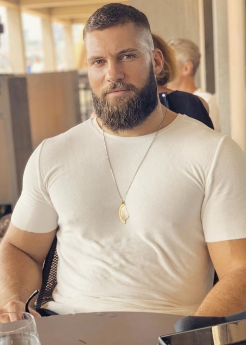 Florian Munteanu as seen in a picture taken at the Opera Bar in January 2020