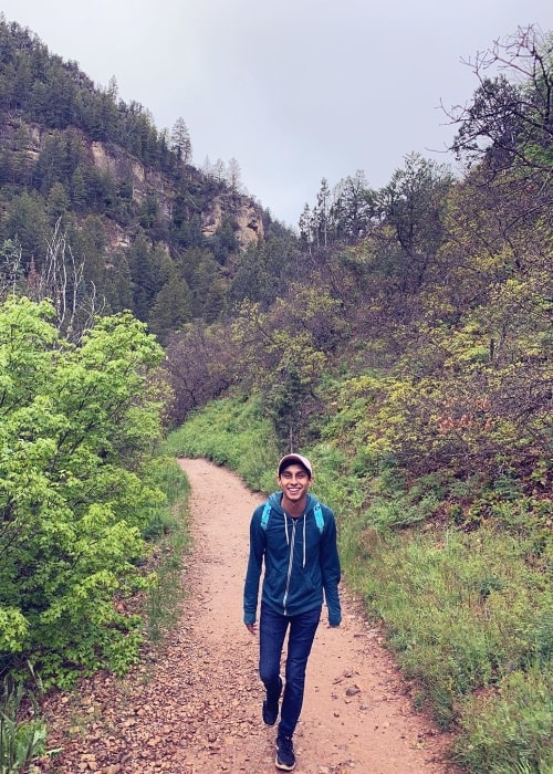 Frankie A. Rodriguez as seen at Fifth Water Hot Springs located in Spanish Fork, Utah, United States in May 2019