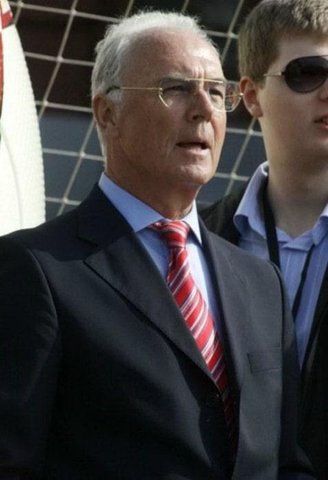 Franz Beckenbauer as seen in 2008