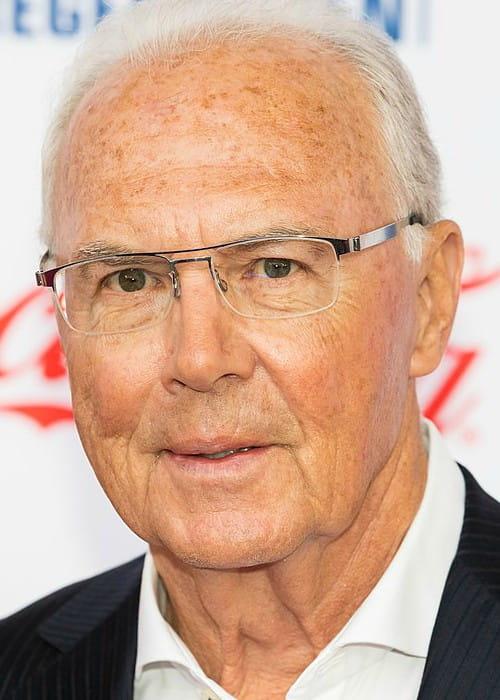 Franz Beckenbauer during Radio Regenbogen Award in 2019
