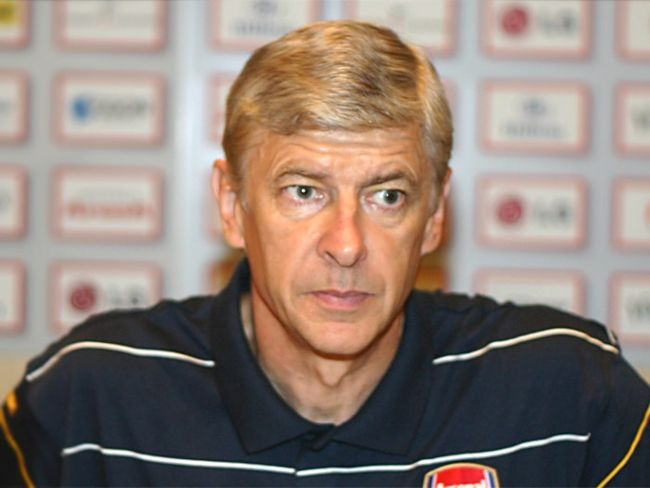 French football manager Arsène Wenger