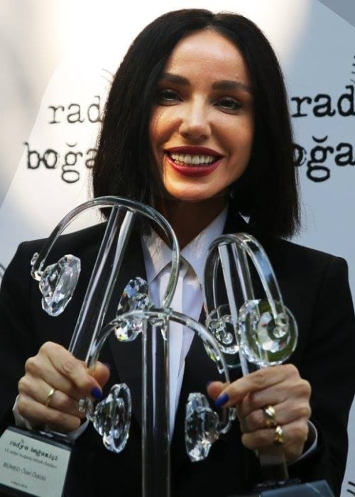 Gülşen as seen at 13th Radio Boğaziçi Music Awards