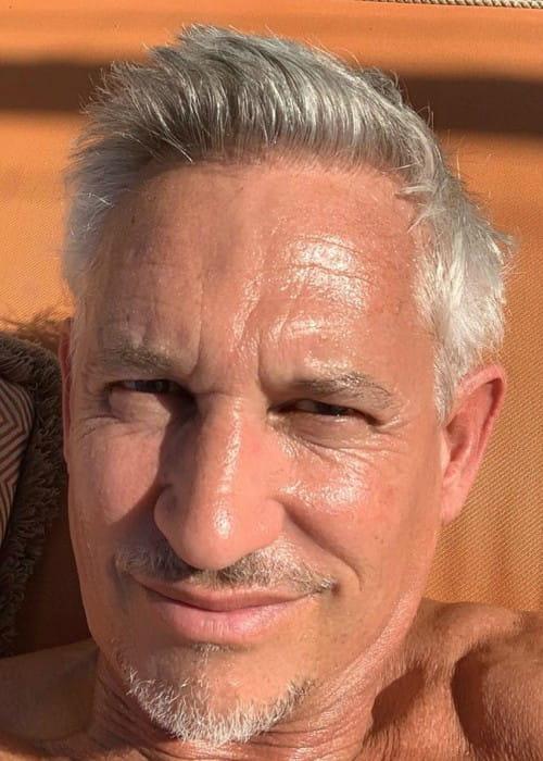 Gary Lineker in an Instagram selfie as seen in November 2019