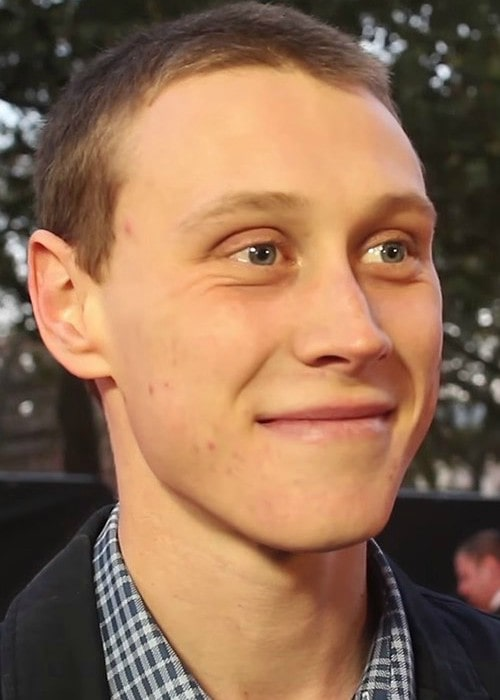George MacKay at the 58th BFI London Film Festival in October 2014