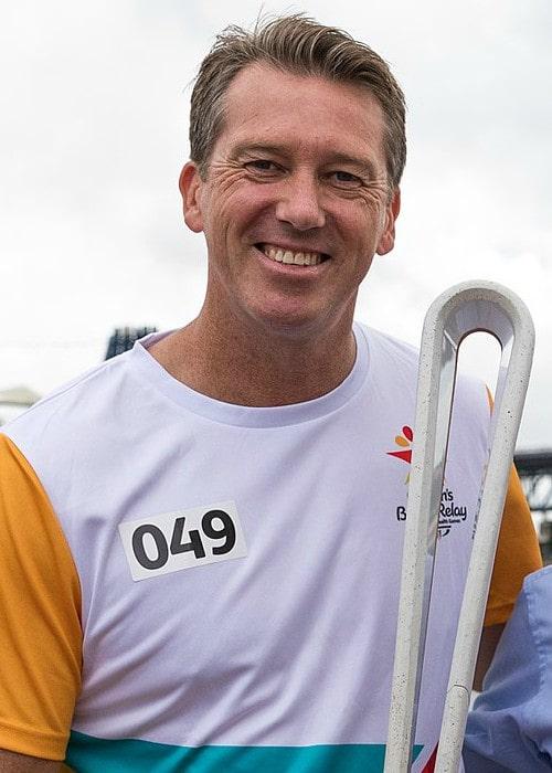 Glenn McGrath as seen in February 2018