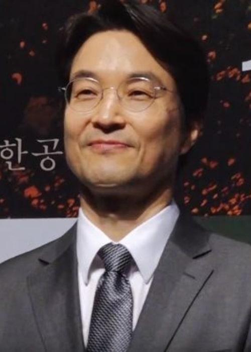 Han Suk-kyu as seen in February 2019