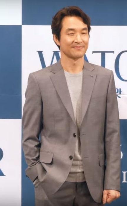 Han Suk-kyu as seen in July 2019