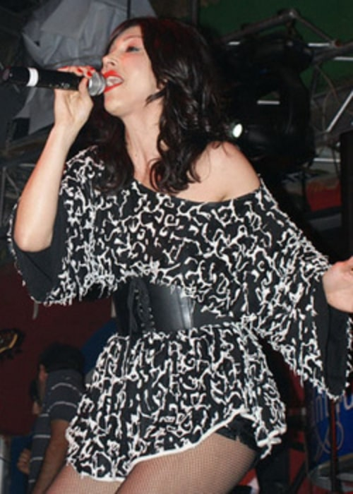 Hande Yener as seen while performing in a concert in Marmaris, Turkey in May 2009