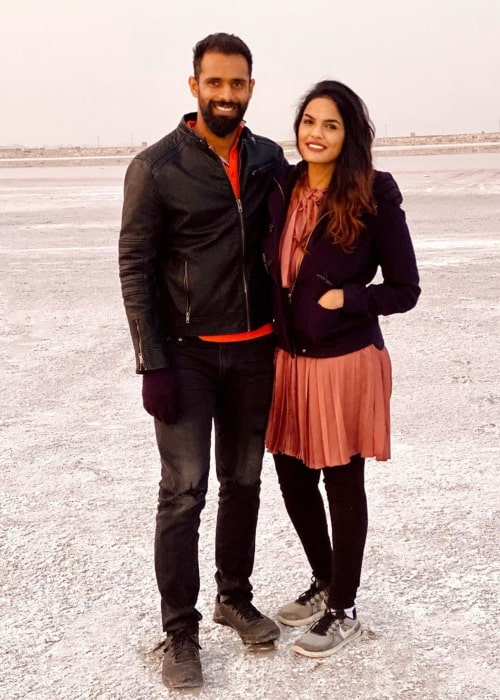 Hanuma Vihari and Preethiraj Yeruva as seen on Valentine's Day in 2020