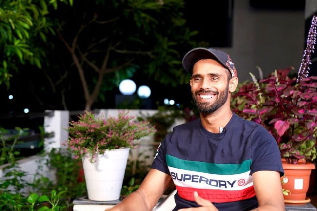 Hanuma Vihari as seen in an Instagram post in September 2019