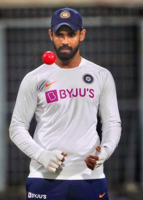 Hanuma Vihari during a practice session with the Indian team in November 2019
