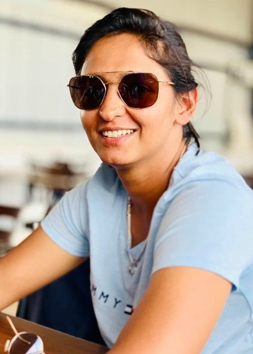 Harmanpreet Kaur in an Instagram post as seen in June 2019