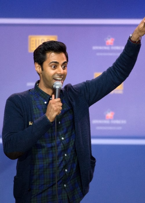 Hasan Minhaj as seen while performing during the comedy show at Joint Base Andrews in May 2016