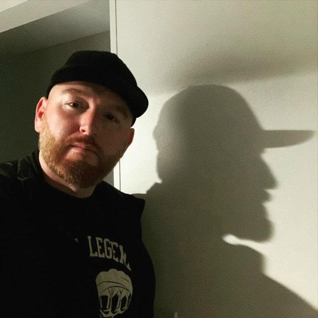 Heath Slater in a selfie as seen in January 2020