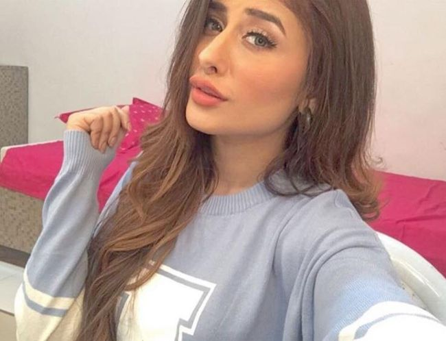 Indian actress and model Mahira Sharma