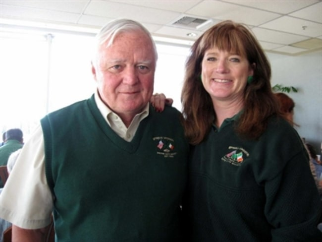 Jack Geraghty as seen along with his wife, Kerry Lynch, at Irish Day at the Races at Emerald Downs in Auburn, Washington, United States in 2007