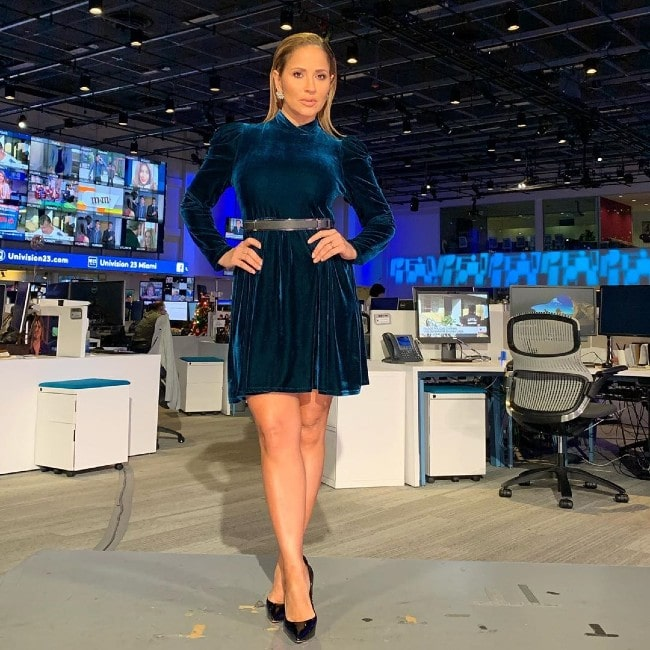 Jackie Guerrido as seen in December 2019