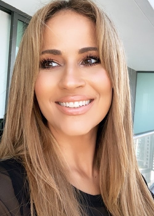Jackie Guerrido as seen in January 2020