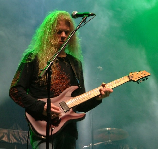 Jeff Loomis as seen while performing with the progressive metal band 'Nevermore' at the Summer Breeze Open Air in Dinkelsbühl, Bavaria on August 16, 2007
