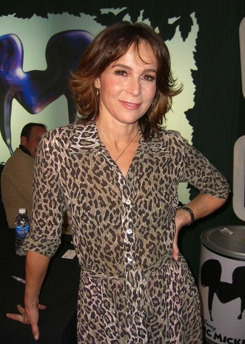 Jennifer Grey at the launch party for Disney's video game Epic Mickey in November 2010