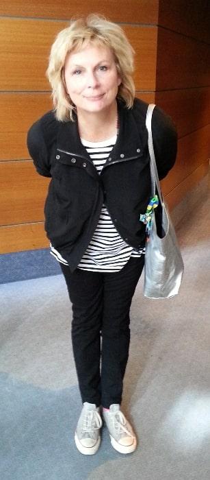 Jennifer Saunders as seen in Melbourne, Australia on April 23, 2014