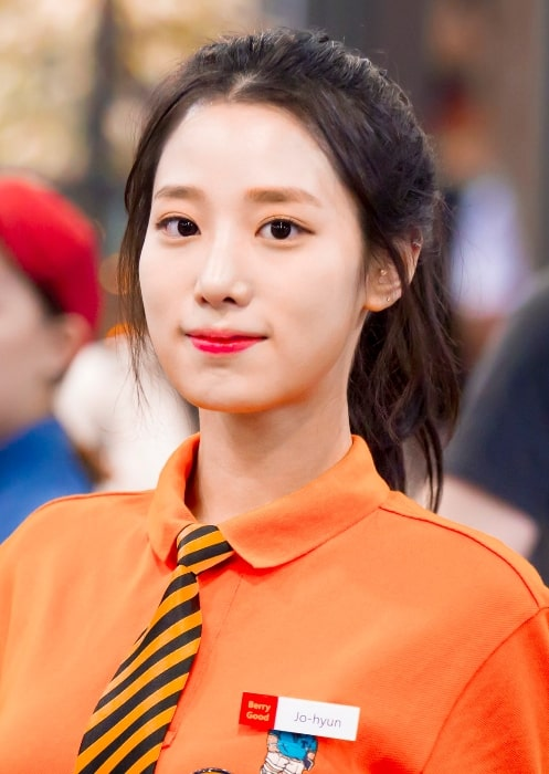 Johyun as seen in May 2017