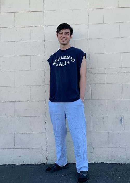 Joji as seen while posing for a picture in October 2019