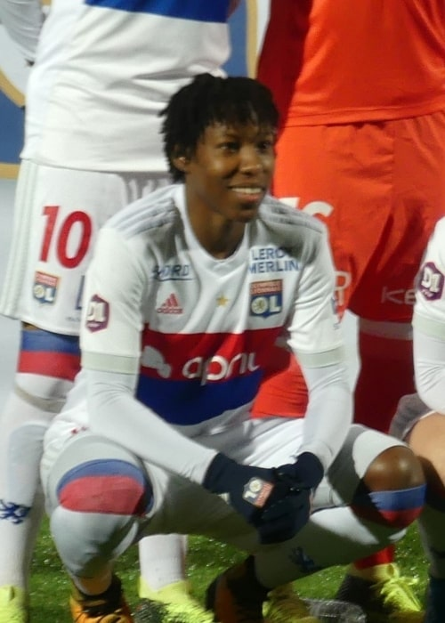 Kadeisha Buchanan as seen in a picture taken during the match of Olympique Lyonnais Women against Montpellier in the league on February 5, 2018