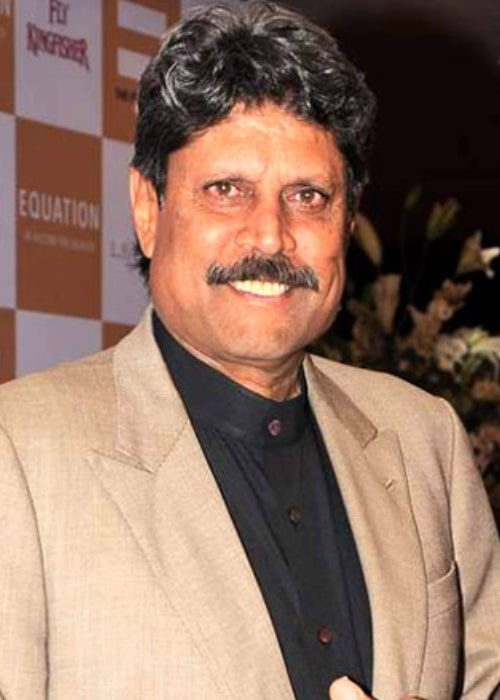 Kapil Dev as seen in a picture taken at the Equation sports auction in the past