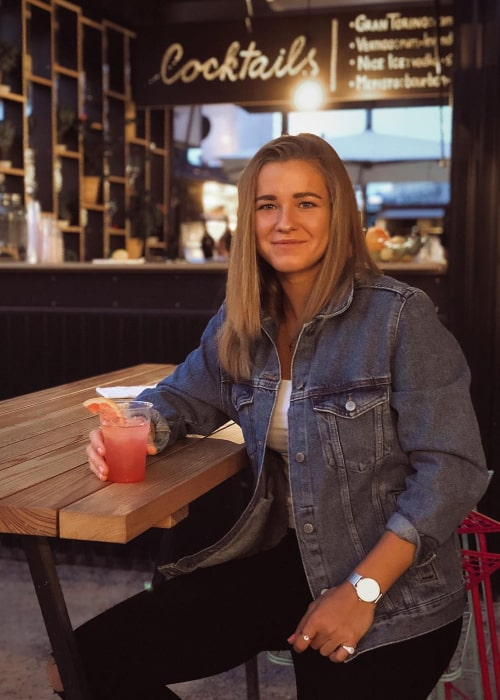 Karolína Muchová as seen in an Instagram Post in September 2018