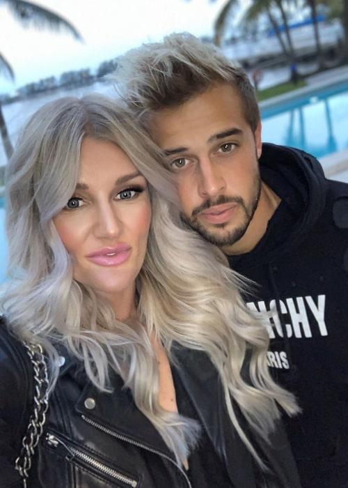 Kaylyn Kyle and Harrison Heath as seen in February 2020